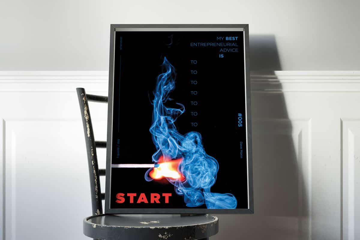 Poster tratto da Get Sh*t Done di Lauris Liberts