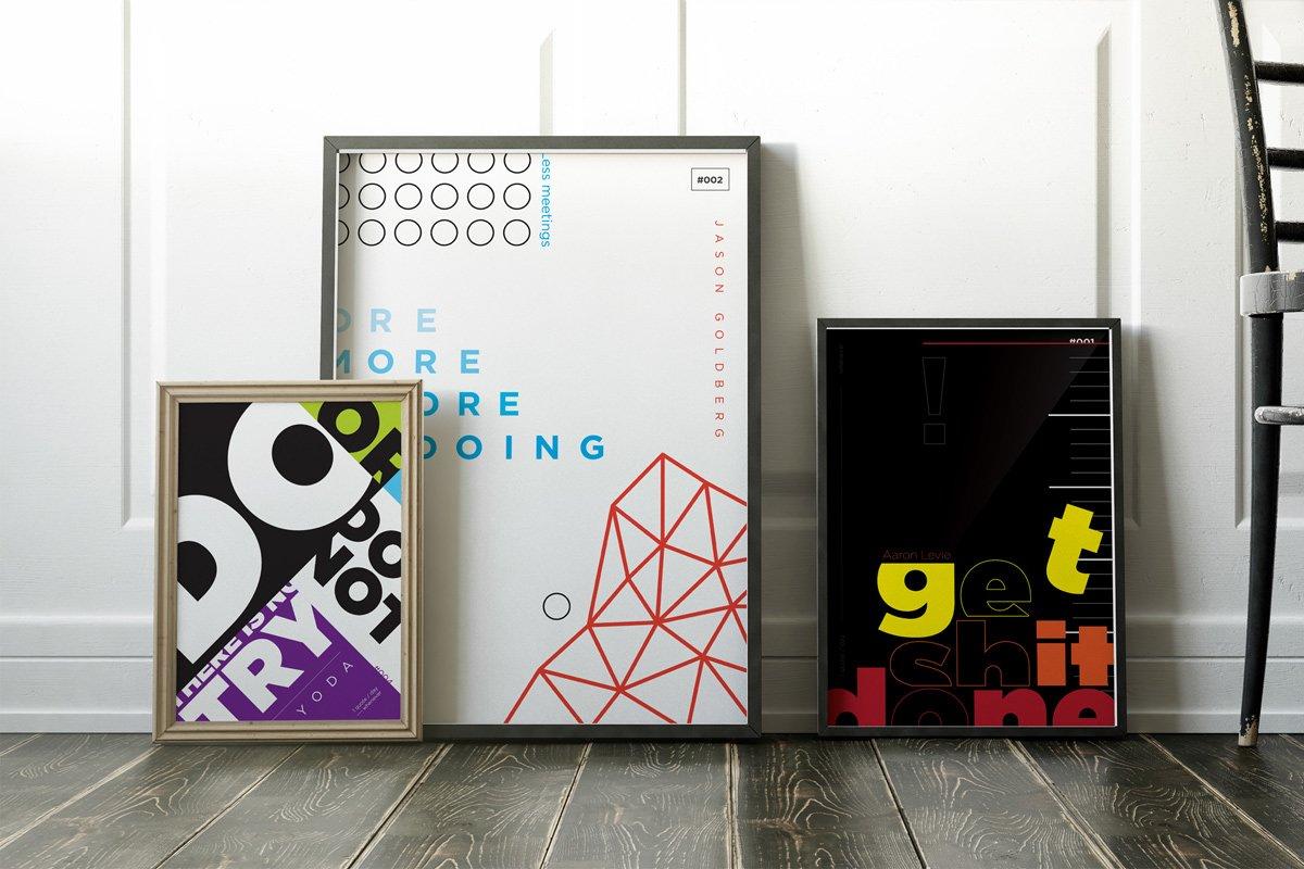 Poster tratti da Get Sh*t Done di Lauris Liberts